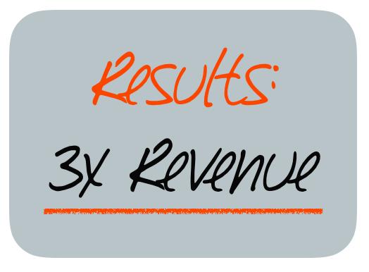 3x revenue